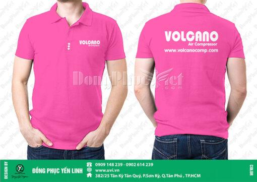 áo thun quảng cáo màu hồng