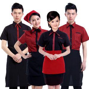 Đồng phục nhân viên lễ tân nhà hàng