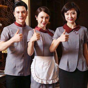 Chọn đồng phục nhà hàng khách sạn đẹp