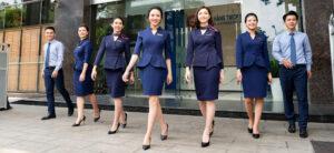Đồng phục ngân hàng SCB