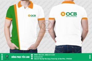 Áo thun ngân hàng OCB