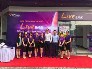 Áo thun ngân hàng TPbank